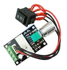DC 6V 12V 24V 28V 3A PWM Motor Speed Controller Forward/Reverse ON/OFF Switch