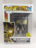 Marvel Funko Pop - Erik Killmonger (Glow Panther) - Black Panther - No. 279