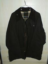 barbour beaufort jacket waxed cotton verde giacca + trapunta  c46-117 xl
