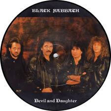 "NEW! BLACK SABBATH DEVIL AND DAUGHTER 7"" VINYL Picture Pic Disc!"