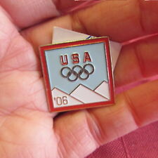 Usa 2006 Olympics Pin Olympic Collector Pins