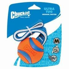 Chuckit Ultra Ball Tug medium 6.5cm Toy Durable Dog Puppy Play Pull Fetch Throw