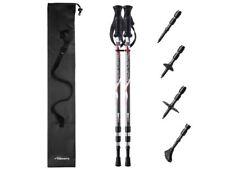 Pair of Trekrite Active Exercise Power Walking Antishock Hiking Sticks/ Poles
