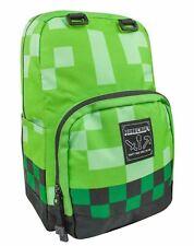 Minecraft Creeper Backpack Children's Green School Backpack