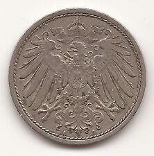 DEUTSCHES REICH 10 PFENNIG 1913 A, BERLIN, SELTEN!