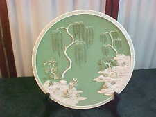 1965 Exquisite Girotti Sculptured Art Wall Mount Embossed Chalkware Coll Plate