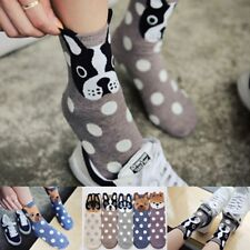 Cute Cotton Dogs Women's Socks Cats Small Ear Cartoon Animal Series Wave Point