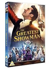 THE GREATEST SHOWMAN new DVD FILM WITH SINGALONG EDITION region 2 Fast FREE P&P