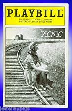 Playbill + Picnic + Autographed by Audrie Neenan , Ashley Judd  & Full Cast