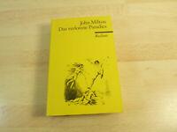 John Milton: Das verlorene Paradies / Reclam / Taschenbuch