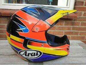 Arai VX Pro Summers MX Motocross Helm L Vintage Classic Retro Twinshock VX VMX