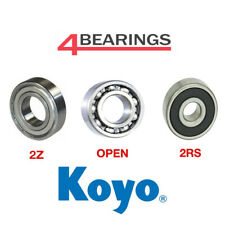 KOYO Bearing 6000 - 6307 Series - Open - 2RS - 2Z - C3 - *Choose your size*