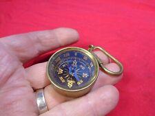 New ListingVintage Pocket Compass Keychain. Bx-H