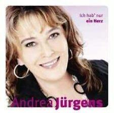 """ANDREA JÜRGENS """"ICH HAB NUR EIN HERZ"""" CD 16 TRACKS NEU"""