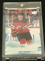 2019-20 Upper Deck Series 1 Jack Hughes Young Guns #201 Devils