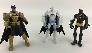Mattel DC Comics Batman Action Figures Lava Mission Blaze Blaster Turbo Punch A8