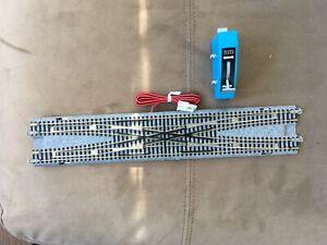 Kato N scale Unitrack Double Crossover Track #20-210 & Controler