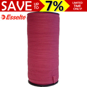 NEW Esselte Legal Tape 9mm x 500m On Roll Holder Documents Reports Pink 39009