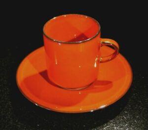 Beautiful Villeroy Boch Granada Flat Cup And Saucer