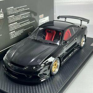 1/18 Ignition Model Nissan VERTEX S15 Silvia Black IG2005