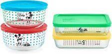 Mickey Mouse-The True Original Food Storage, 8 Piece
