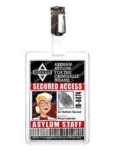 Batman Arkham Harleen Quinzel animados personal ID Badge Cosplay Disfraz Navidad