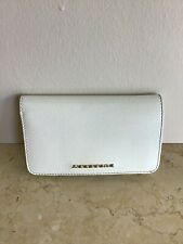 Authentic  Burberry White Patent Leather Wallet