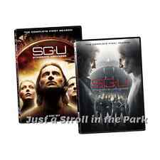 Stargate Universe SGU: Complete Series Seasons 1&2 First & Final Box/DVD Set(s)