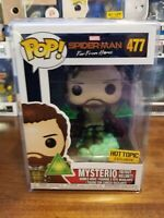 Funko Pop Marvel Spiderman Far From Home Mysterio #477 Hot Topic Exclusive
