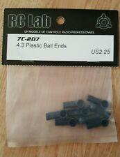 Rclab 7 anche 4.3 palla di plastica finisce vintage su strada 1/10th DRIFT RC Lab