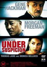 UNDER SUSPICION DVD=GENE HACKMAN-MORGAN FREEMAN=REGION 4=BRAND NEW AND SEALED