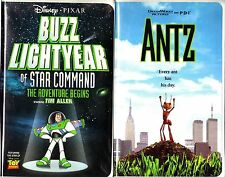 Buzz Lightyear of Star Command: The Adventure Begins (VHS, 2000) & Antz - 2 VHS