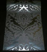 5526-31) 1 Rolle Vinyltapete BLACK BAROCK Ornament Tapete schwarz - ANGEBOT-