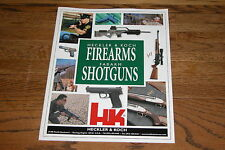 Heckler & Koch, Fabarms V1 2001 Firearms Catalog Excellent