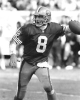 San Francisco 49ers STEVE YOUNG Glossy 8x10 Photo Print NFL Football Poster