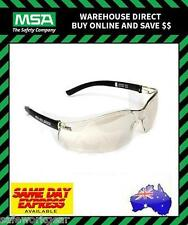 MSA NULLARBOR CLEAR Lens Safety Glasses Eyewear Protection Spectacles