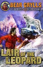 MISSION SURVIVAL 8: lair of the leopardo por Grylls, Oso Libro De Bolsillo 97818