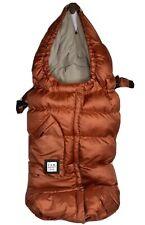 7AM ENFANT Blanket 212 Evolution Stroller Car Seat Foot Muff Burnt Orange 0-4T