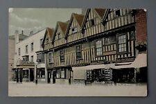 R&L Postcard: Stratford on Avon, Bookshop, Printer, Hotel, Chapel Street