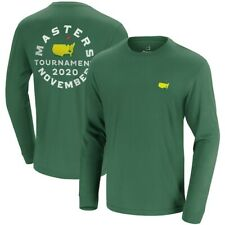 2020 Masters November Long Sleeve T-Shirt -- GREEN -- LARGE
