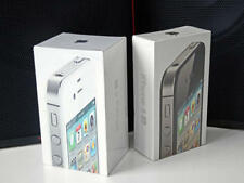 Genuine Apple iPhone 4S / 4 Empty Box Black / White WITH/WITHOUT ACCESSORIES