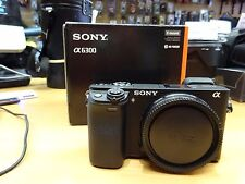 Sony Alpha A6300 24.2 MP Digital 4K Camera Body Nr Mint 6 Months Warranty
