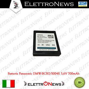 Batteria per Panasonic DMV-BCB7/S004E 3,6V 700mAh