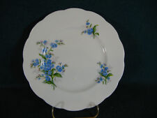 "Royal Albert Forget Me Not Pattern Round 9 1/4"" Diameter Luncheon Plate(s)"