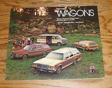 Original 1980 Ford Station Wagon Sales Brochure 80 Pinto LTD Fairmont Club