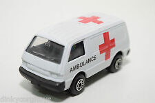 EDOCAR FORD ECONO VAN AMBULANCE VERY NEAR MINT CONDITION RARE SELTEN RARO