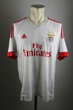 Benfica Lissabon Trikot 2015-2016 Gr. XL Adidas S.L.B Away Shirt jersey Lisboa