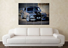 Large Shelby GT500 Muscle Supercar Ford SportCar Wall Poster Art Picture Print