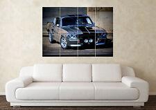 Gran Shelby Gt500 Muscular supercoche Ford sportcar muro de arte cartel impresión de foto