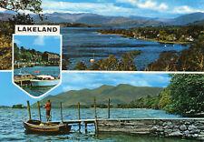 Postcard  Cumbria   Lakeland  multi view  unposted Dennis
